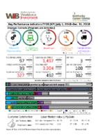 2018-12 – December FY19 KPI