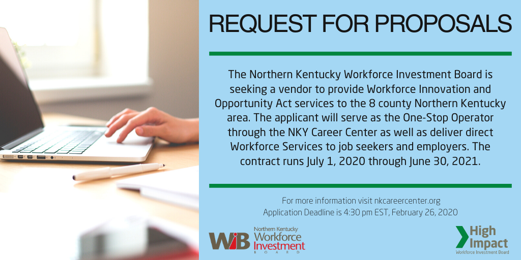 Accepting Request for Proposals to Deliver Workforce Services to Adults, Dislocated Workers, and Youth, and Provide Business Services to Employers