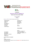 2019-02 Business Services Committee