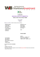2019-06 Business Services Commitee