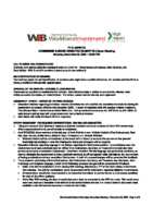 2020-12-14 MBO Committee Meeting Minutes